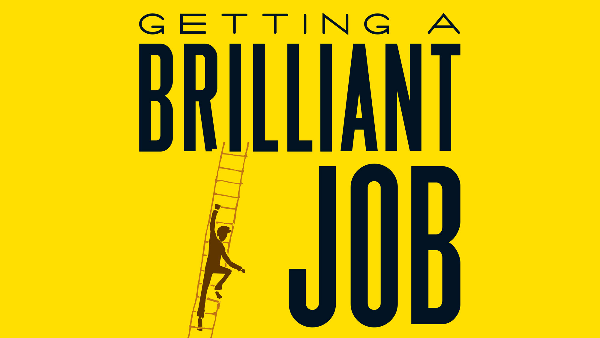 Print: Getting A Brilliant Job - book cover design