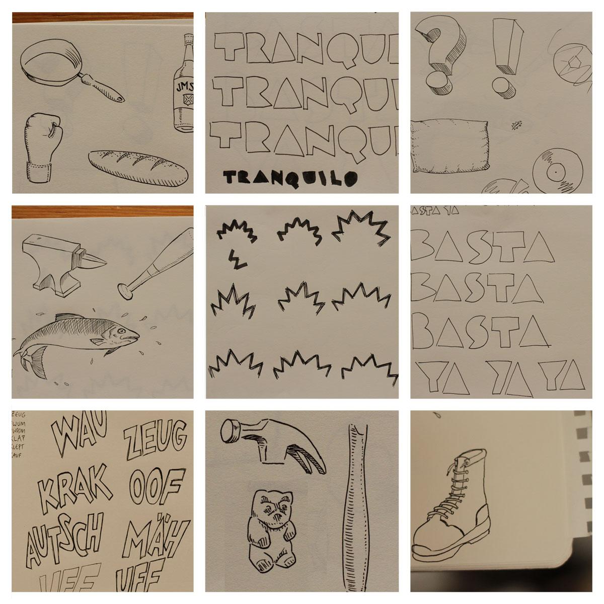 Ray Mann   Sometimes  -Sketchbook Excerpts