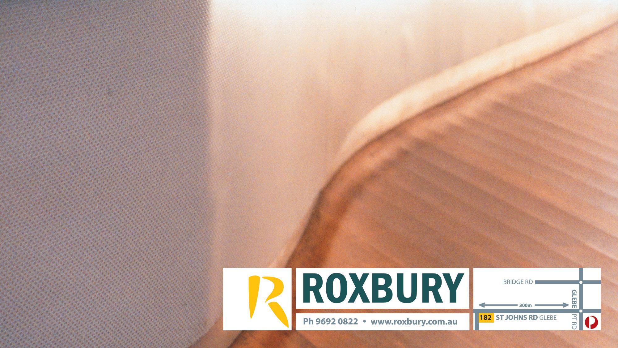 Print / Photo: Roxbury - branding